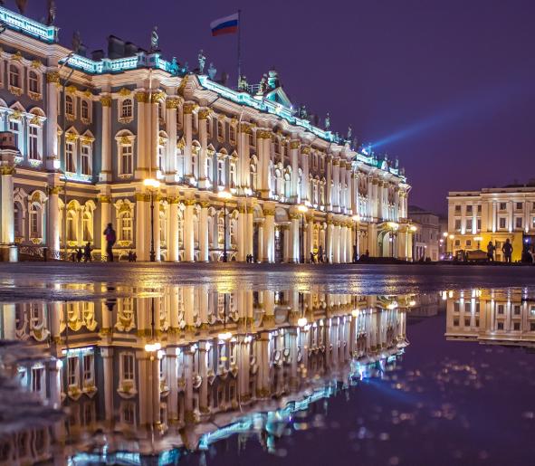 Hermitage Museum, São Petersburgo, Rússia