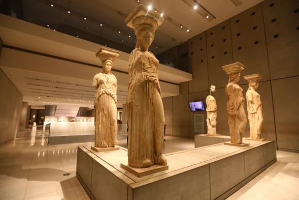 museu acropole - grecia